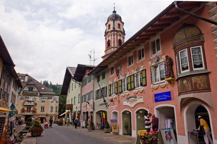 Innenstadt von Mittenwald