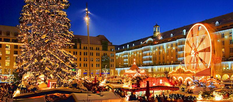 Der Dresdener Striezelmarkt