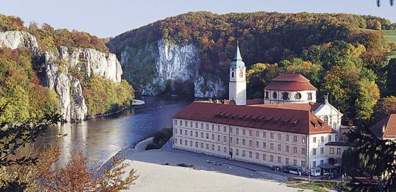 Donaudurchbruch Kloster Weltenburg