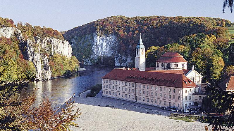 Der Donaudurchbruch bei Kloster Weltenburg