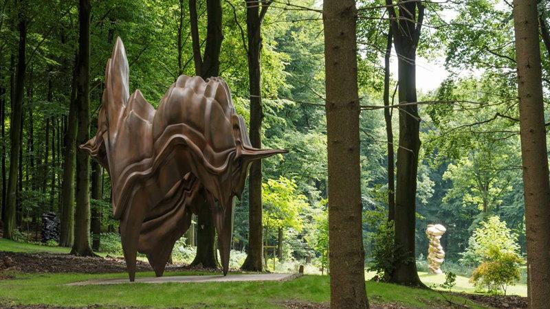 Der Skulpturenpark Waldfrieden