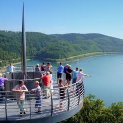 Wanderung am Biggesee – die Burg Schnellenberg