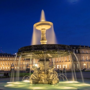 Stuttgart bei Nacht