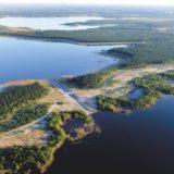 Die Lausitzer Seenplatte
