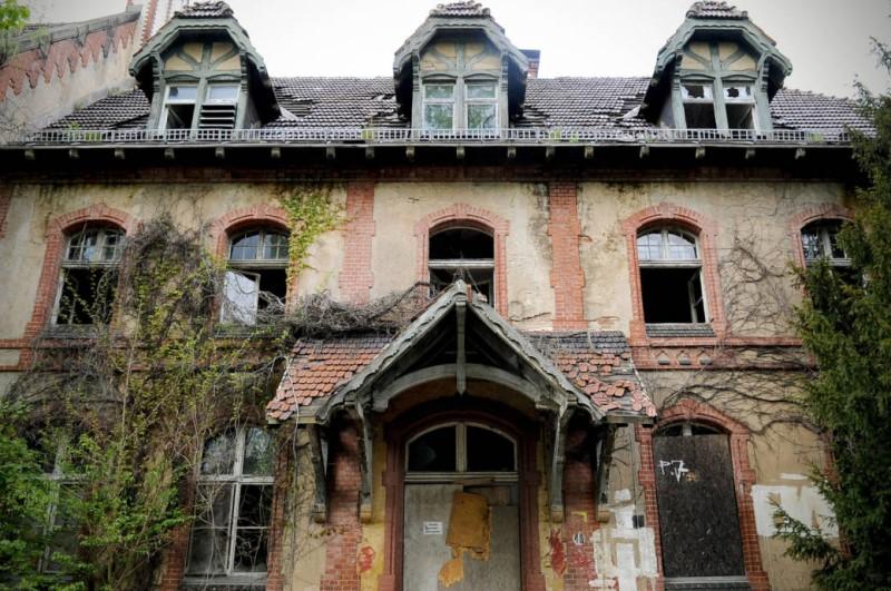 Ruine in Beelitz Heilstätten
