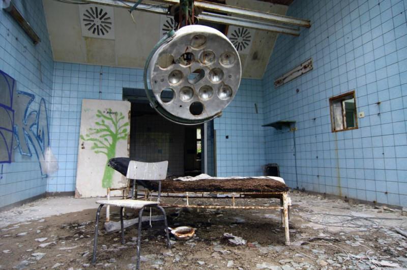 Operationssaal in Beelitz Heilstätten