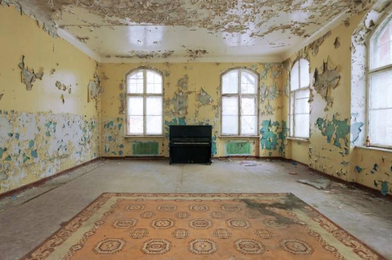 Blick in die Vergangenheit: Beelitz Heilstätten