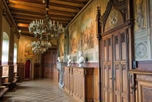 Saal der Burg Hohenzollern
