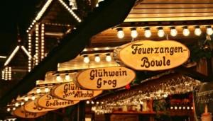 Marktbuden auf dem Dresdner Weihnachstmarkt